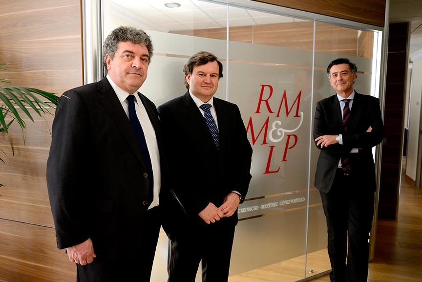 Alberto López, Luis Martinez y Salvador Ruiz Menacho
